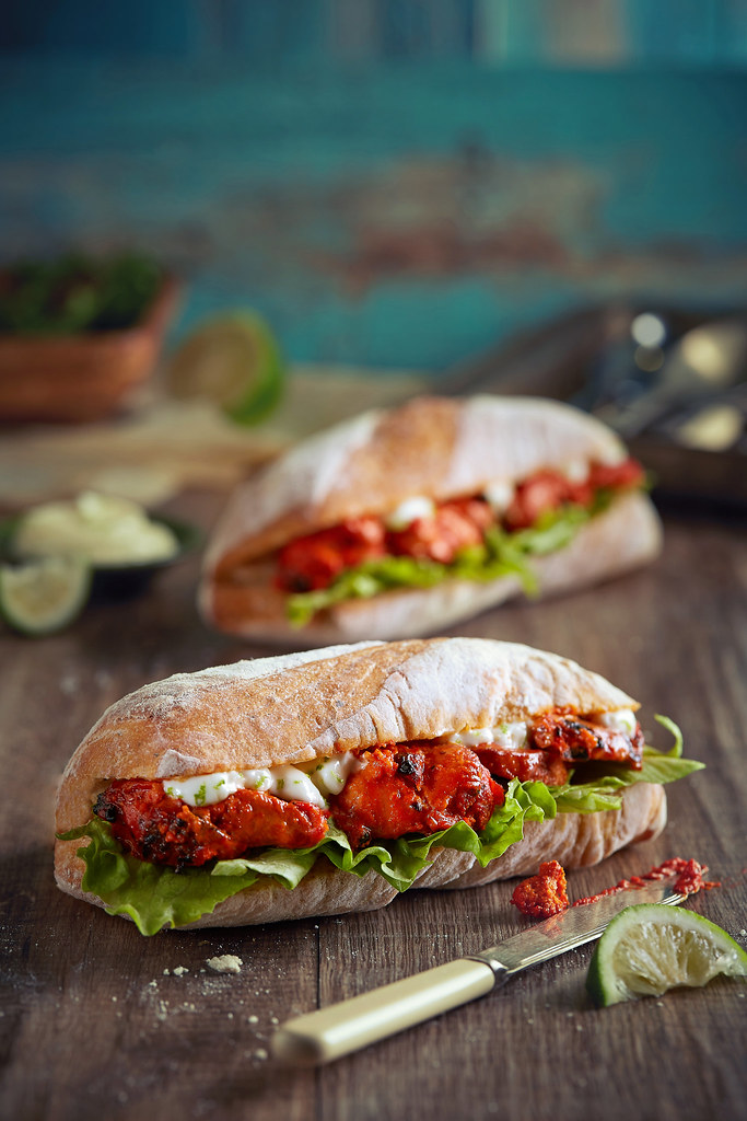 Chicken Tikka Sandwich from Joe & Dough