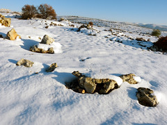Snowy Samaritan hills near Ariel 101748073