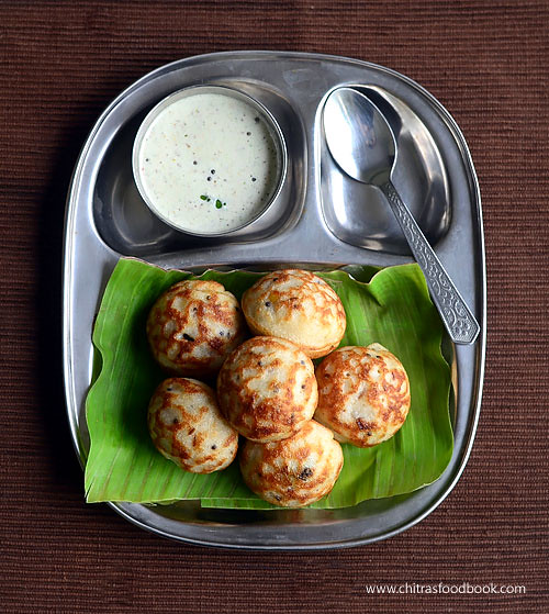 Paddu recipe