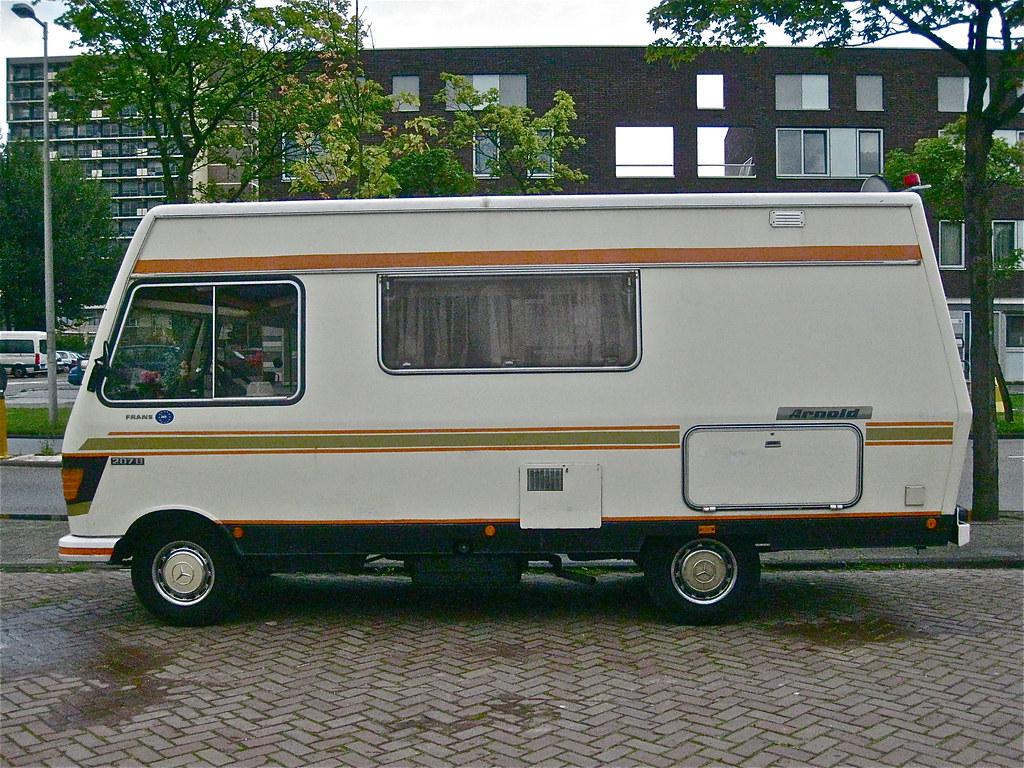 1980 mercedes benz 207d 601d 28 arnold wohnmobil i never h flickr. Black Bedroom Furniture Sets. Home Design Ideas