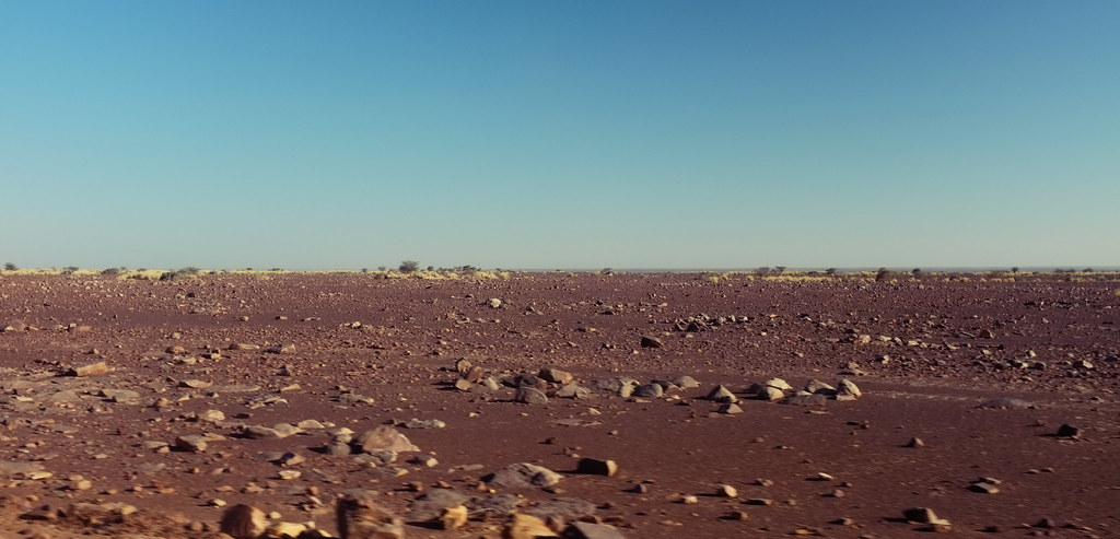 Purple / Lime / Blue - Adrar plateau