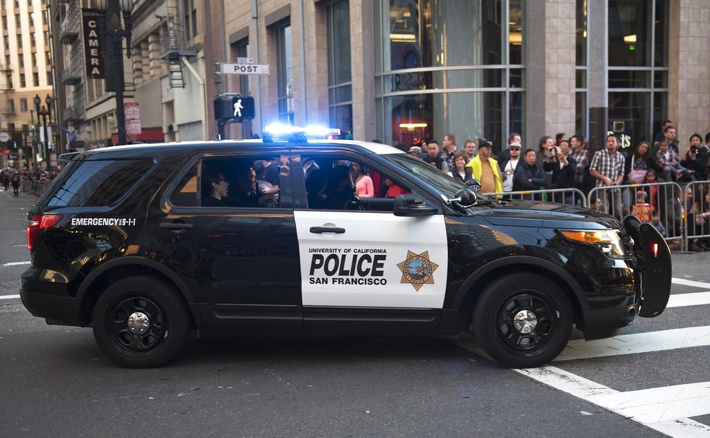 Car Asian police