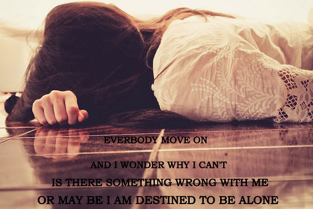 Alone Girl Quotes Destined To Be Alone Sad Crying Loneyl Flickr