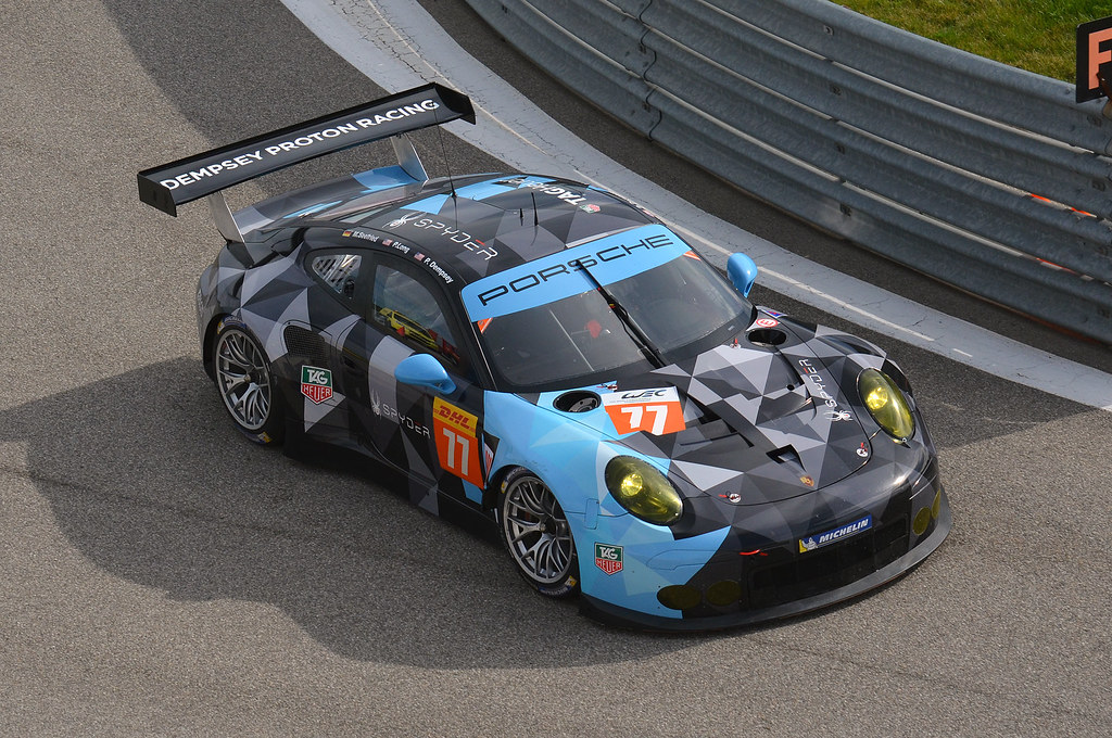 Porsche 911 Rsr Dempsey Proton Racing 2015 Prologue