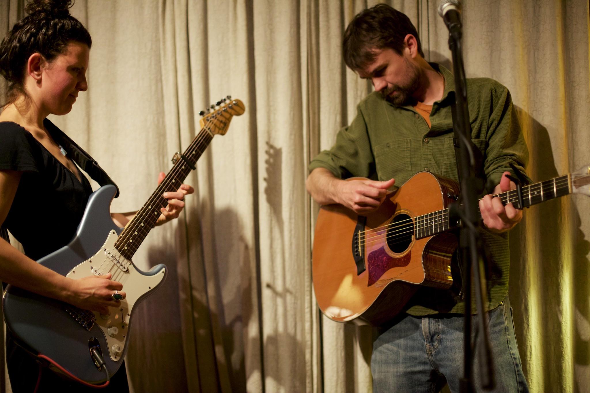 Dave McGraw & Mandy Fir at The Folkhouse | April 25, 2015