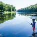 Fishing in the Delaware River