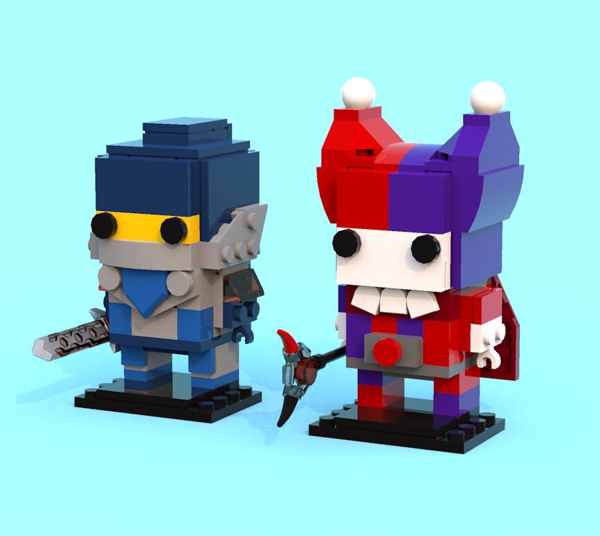 The Anatomy Of A Brickheadz Brickset Lego Set Guide And Database