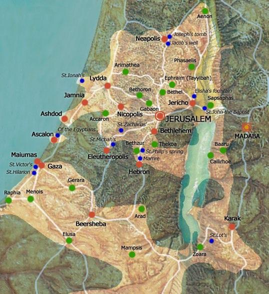 Risultati immagini per Meteo Jericho nella valle del giordano cartina geografica ?