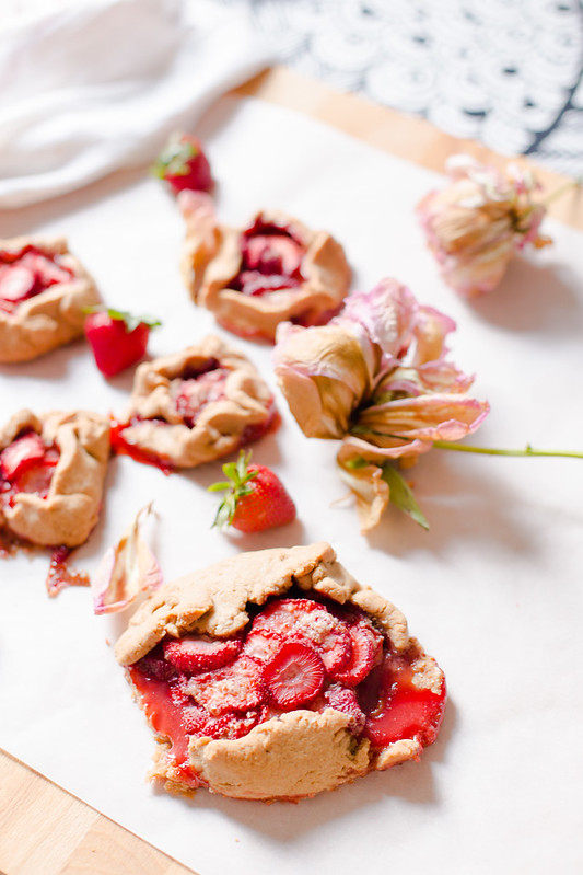 Mini Strawberry Galette