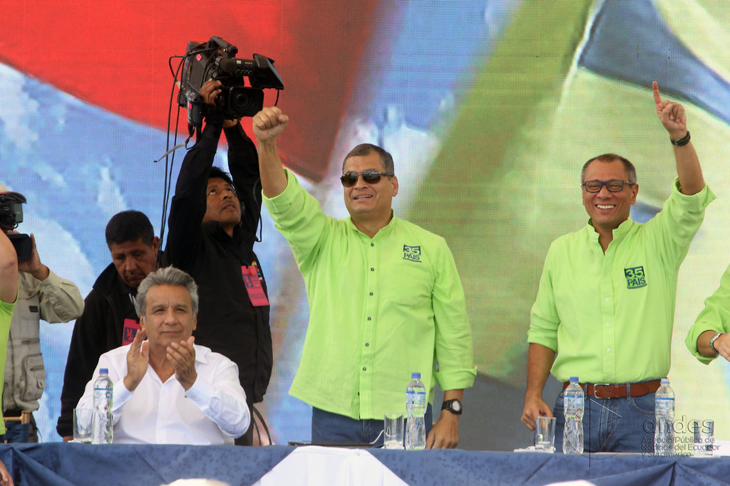 The 5th National Convention of the PAIS Alliance Movement proclaimed Lenin Moreno and Jorge Glas as the binomial that will inscribe this political grouping for the electoral contest of February 2017.