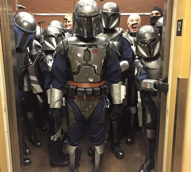 Elevator Full of Deathwatch