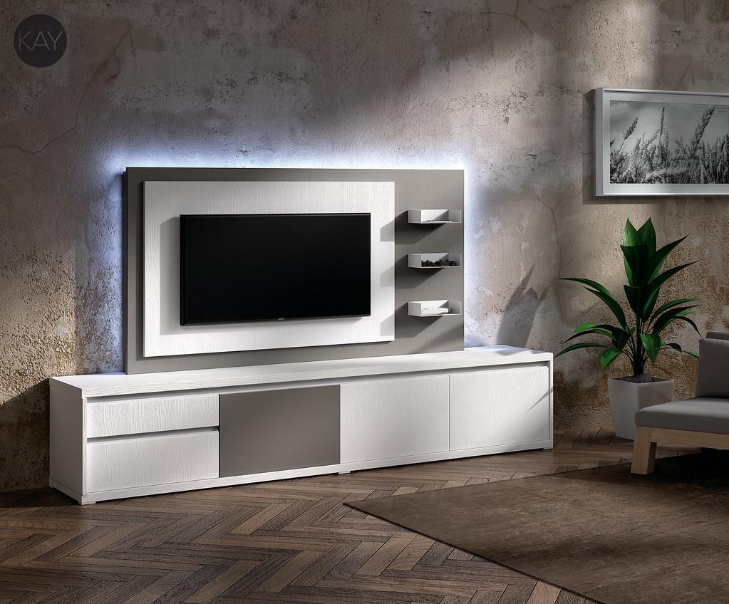 Muebles tv muebles para la televisi n paneles tv girator - Muebles para la tele ...