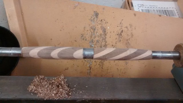 Stripey Pen - Turning Done