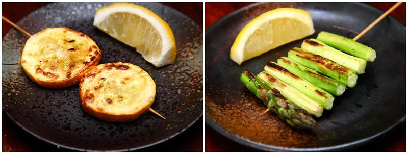 Vegetable Yakitori