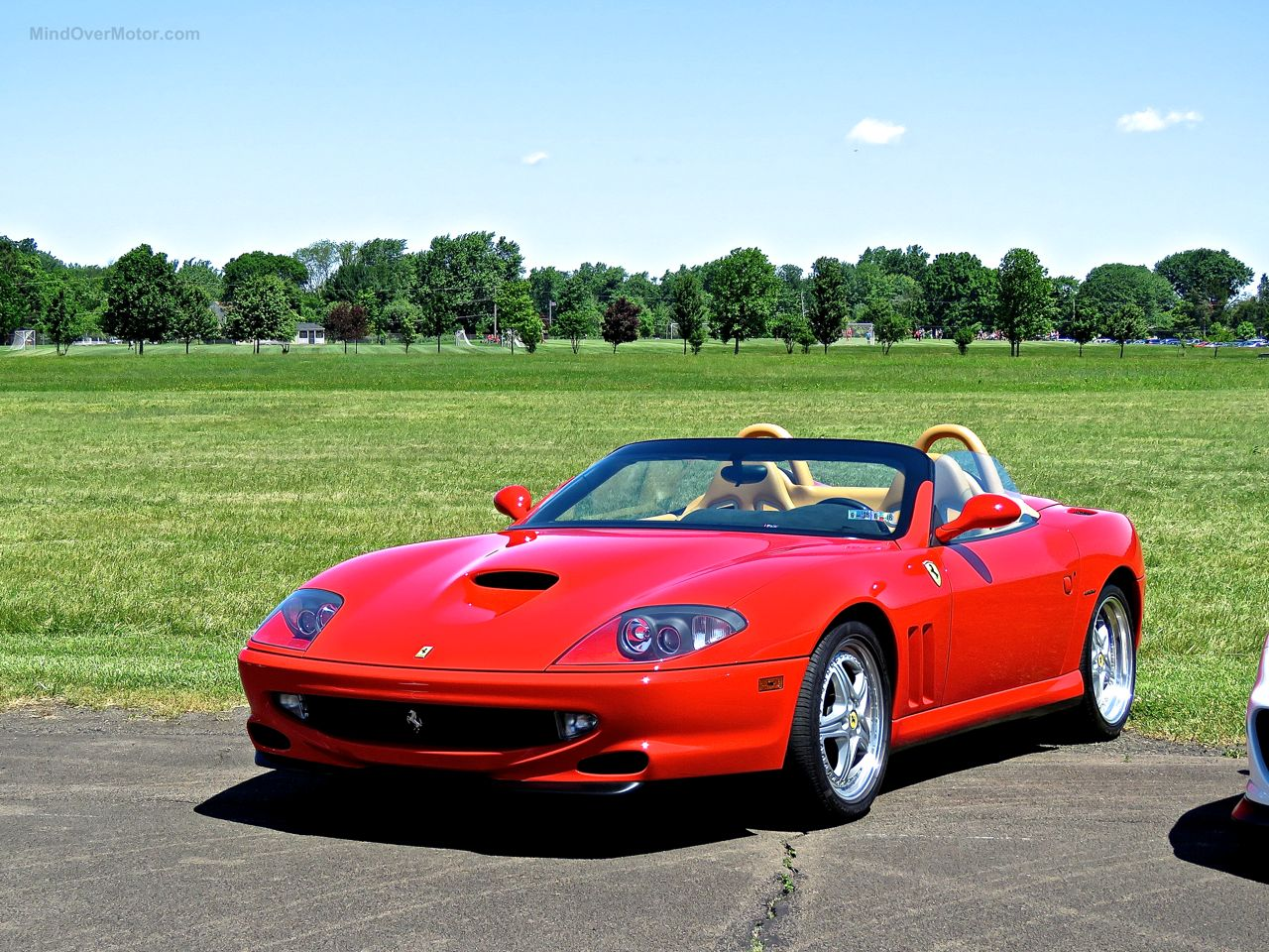 Ferrari 550 Barchetta at CF Charities