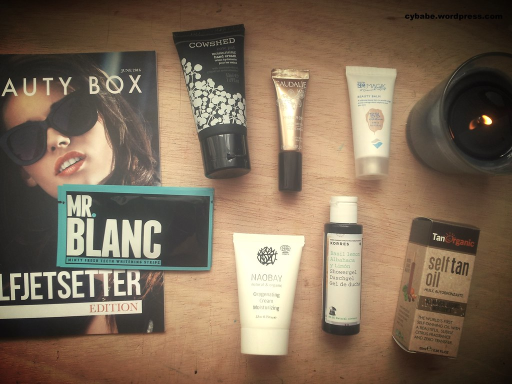 Lookfantastic Beautybox June Edition