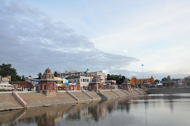 According to the legend, such is the purifying power of this tank that all nine sacred rivers of India, from the Ganges to Cauvery, are believed to bathe here once in 12 years to purge the sins of the humanity accumulated in their water.
