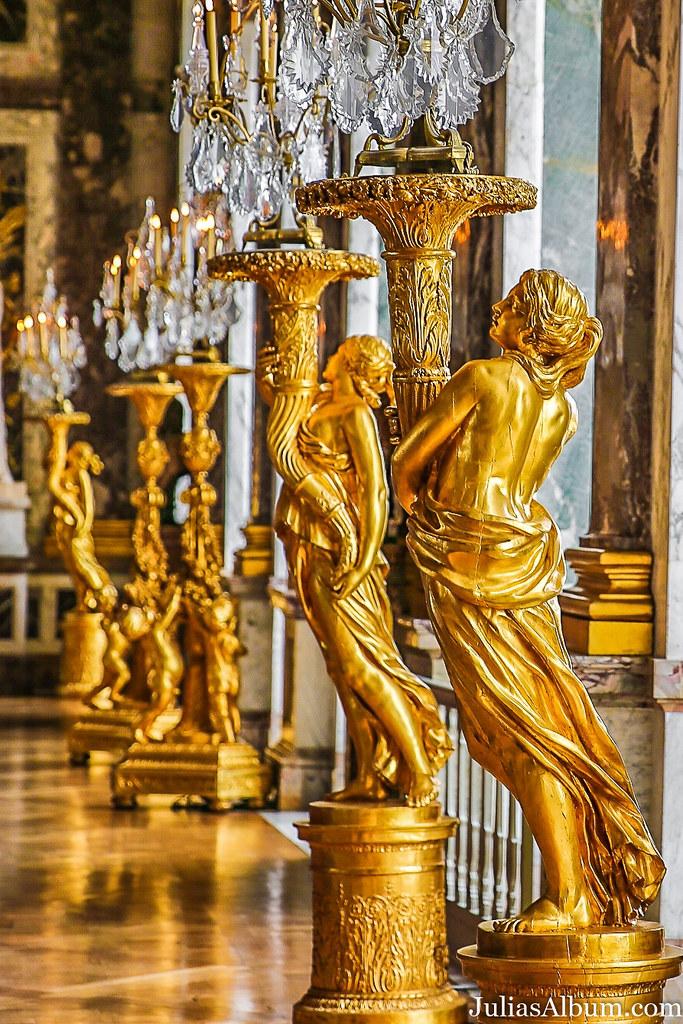 Palace Of Versailles Interior Apartments