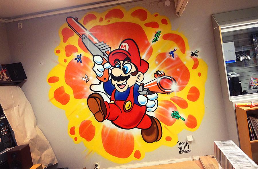 Mario by Grim Nyberg