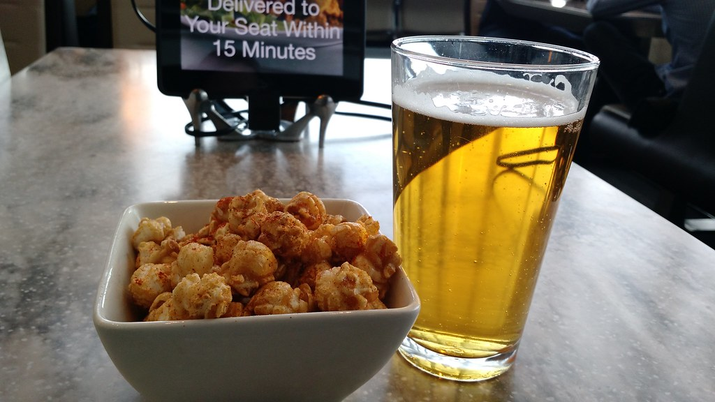 Curry Popcorn and Beer | Angelina Earley | Flickr