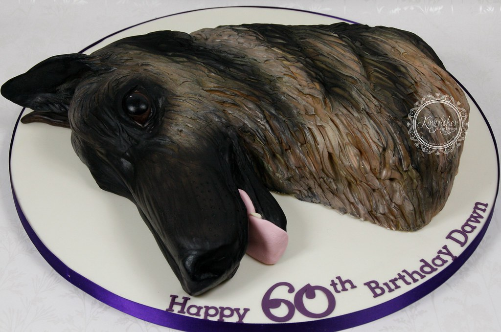 German Shepherd Cake Pan
