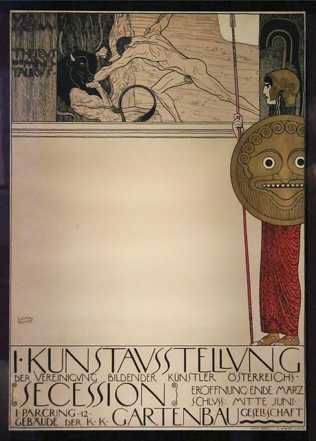 Gustav Klimt, 1st Art Exhibition of the Association of Visual Artists of Austria, Secession, Vienna, 1898