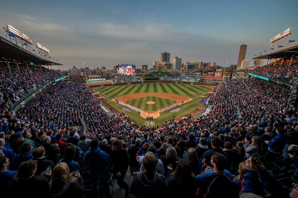 Wrigley Field Opening Night 2015 | Chicago Cubs vs. St ...