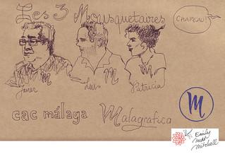 Malaga Carnet chinois - Malagrafico Equipo - Emily Nudd-Mitchell