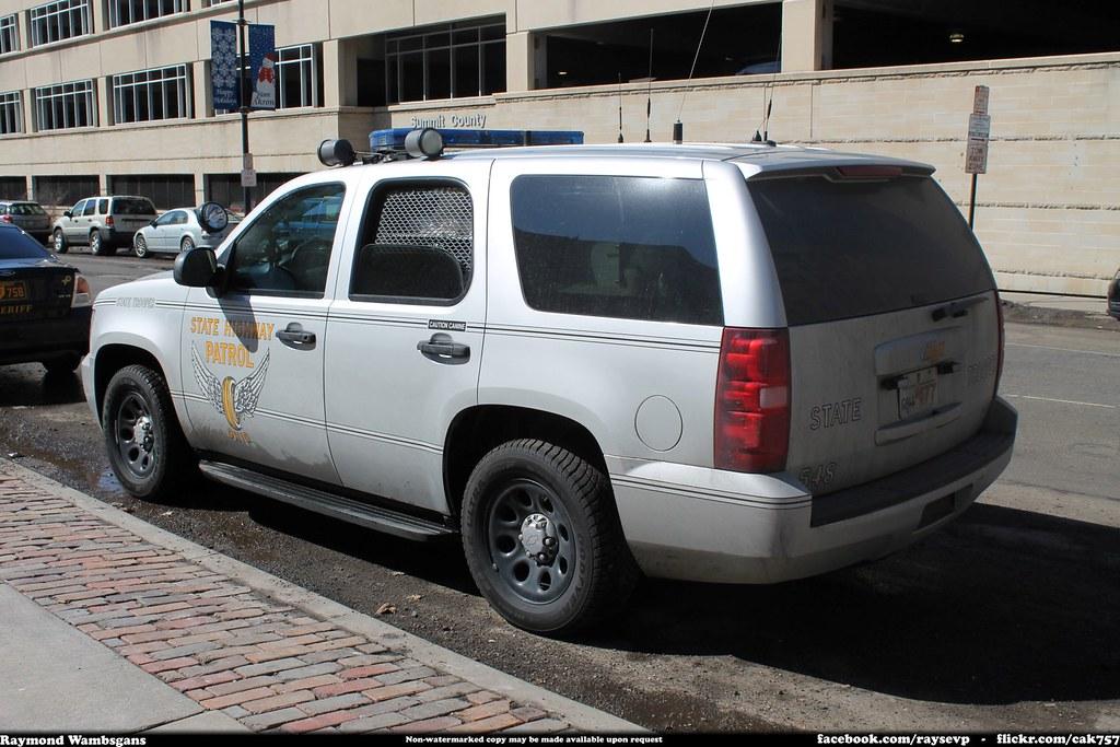 Ohio State Highway Patrol Chevrolet Tahoe Raymond