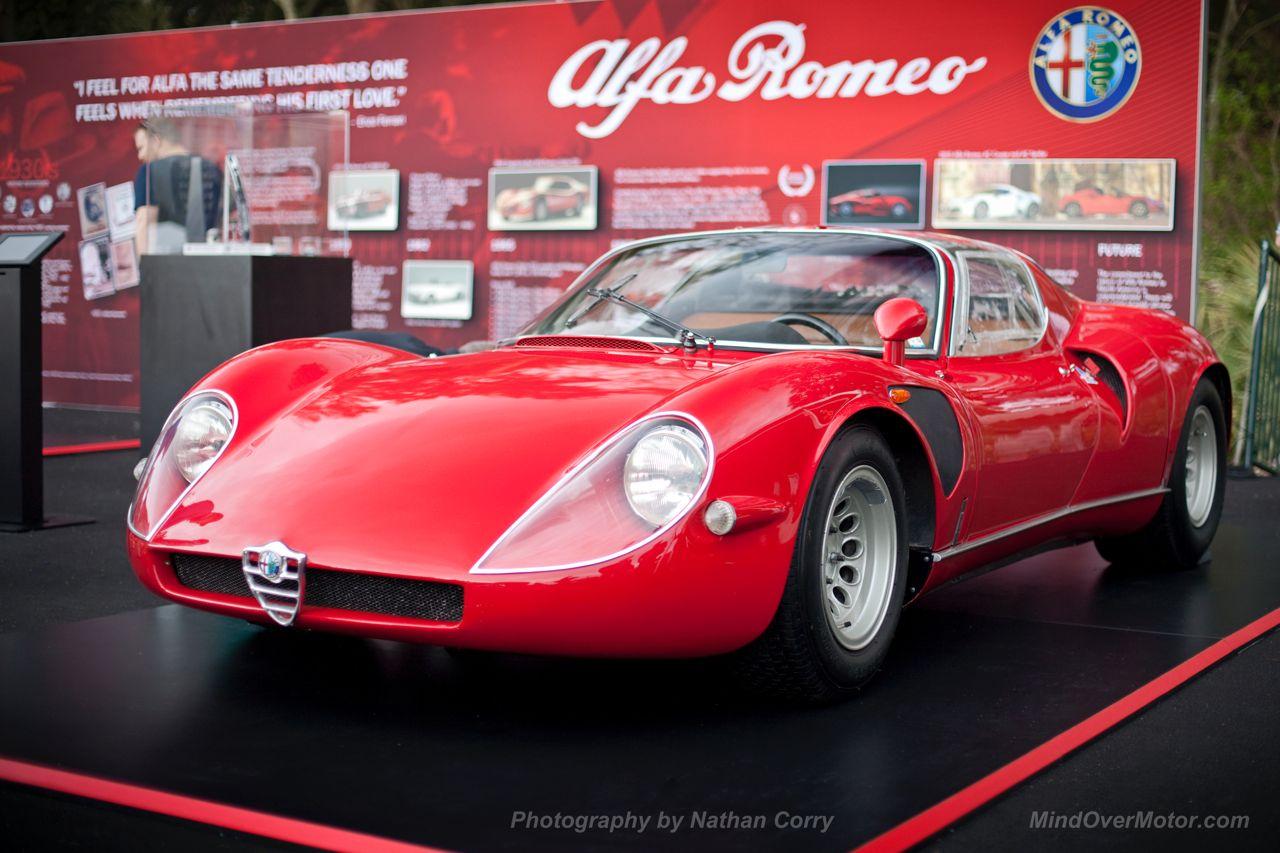 Alfa Romeo Tipo 33 Stradale Amelia Island 1