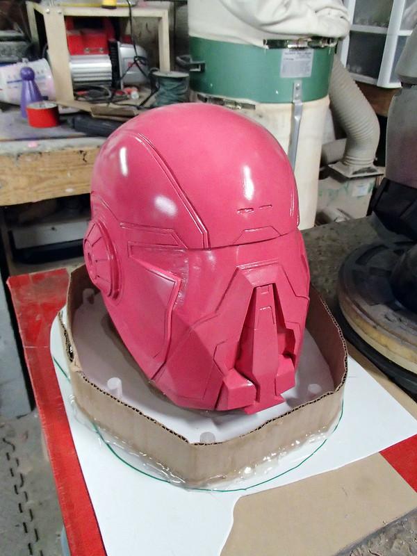 Shae Helmet Prepped for Molding