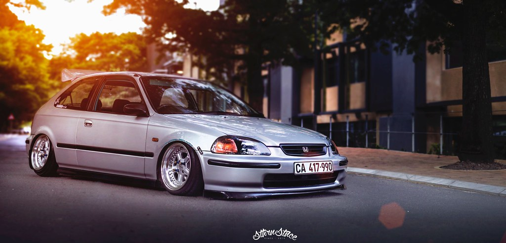Something From A More JDM Variety Slammed EK Civic