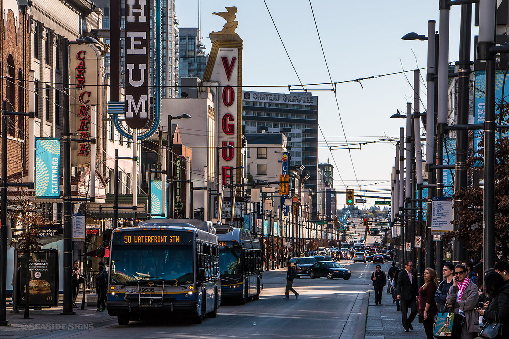 Hotels Downtown Vancouver Bc Granville