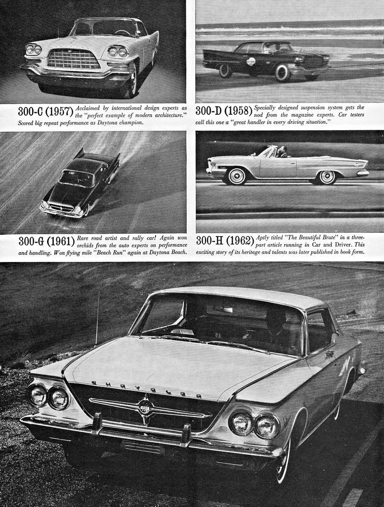 1963 Chrysler 300 J Ad Page 2 Alden Jewell Flickr