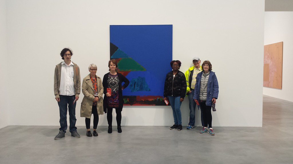Intergenerational trip to the Newport Street Gallery