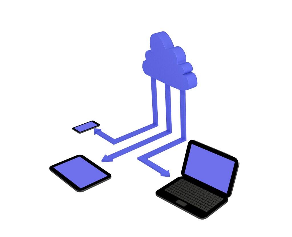 Blue Cloud Logo  Letters