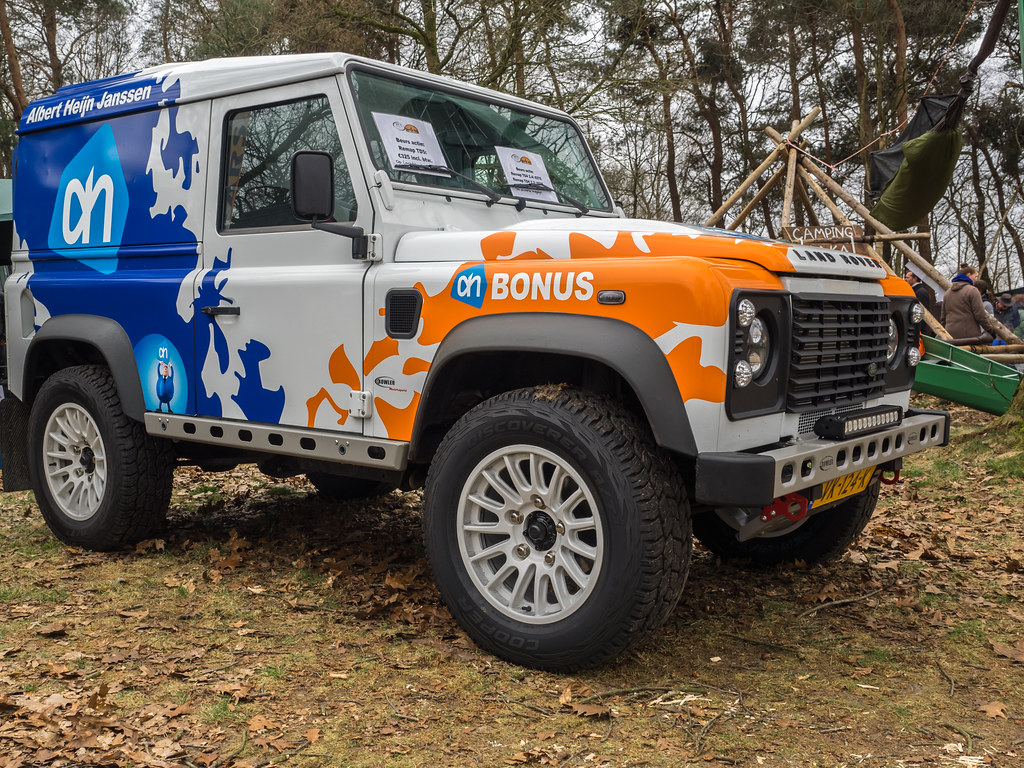 Land Rover Bowler - Sponsered by Albert Heijn - Experience… | Flickr