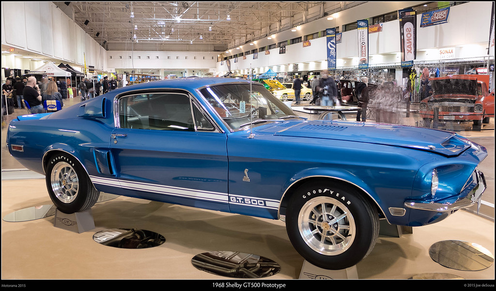 1968 Shelby Gt500 Prototype This Car Started As A 1967