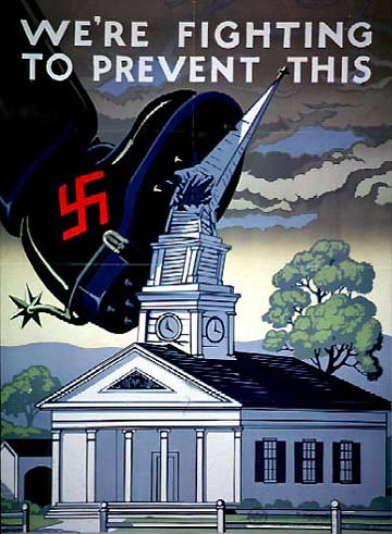 World War II Poster - We're Fighting To Prevent This