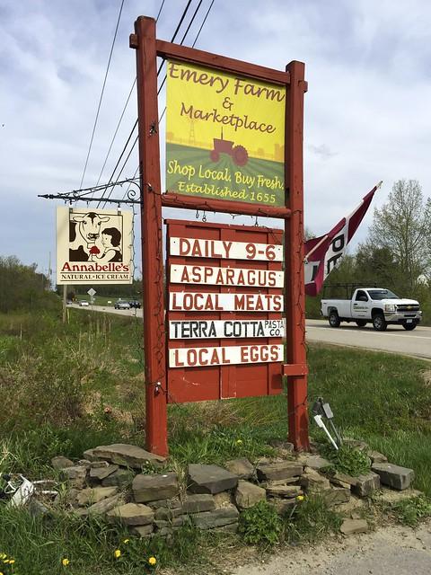 Emery Farm: Asparagus and Herbs