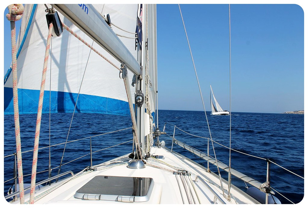 sail boat malta
