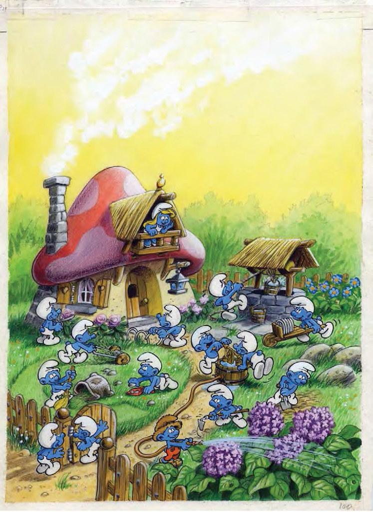 """We're All Smurfs!"" Art Exhibition @ Harbour City - Alvinology"