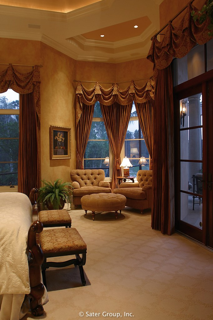 Superb ... Custom Luxury Home   Master Bed Sitting | By The Sater Group, Inc.