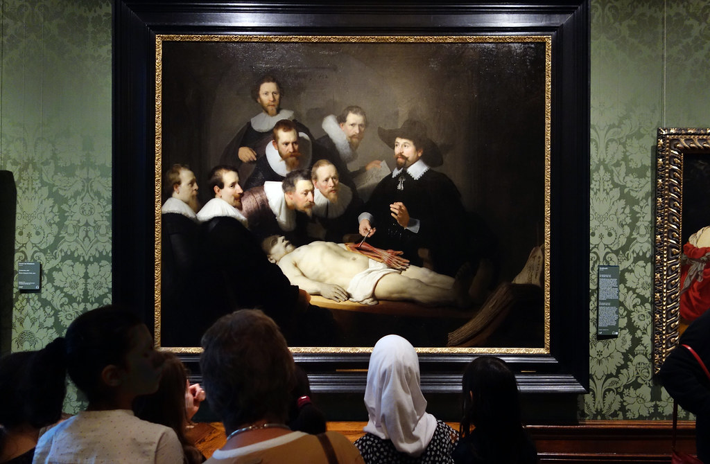 Rembrandt The Anatomy Lesson Of Dr Tulp Gallery View Flickr