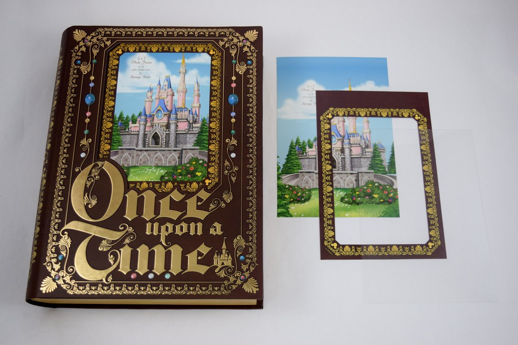 Once Upon a Time Storybook Frame - Photo Frame and Storage… | Flickr