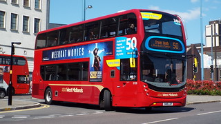 National Express West Midlands - SN15LGY - Birmingham - 18 April 2015