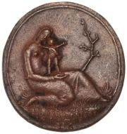 WWI Mother medal 2011.62.15.obv