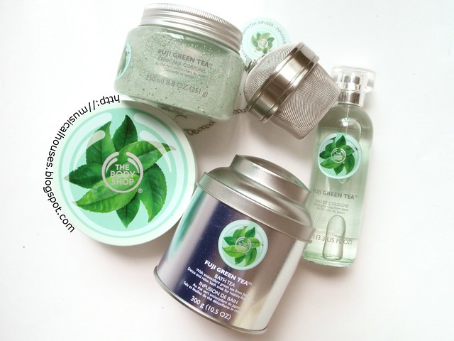 The Body Shop Fuji Green Tea Collection 1