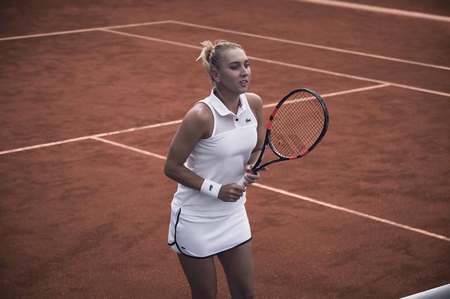 Elena Vesnina Roland Garros outfit