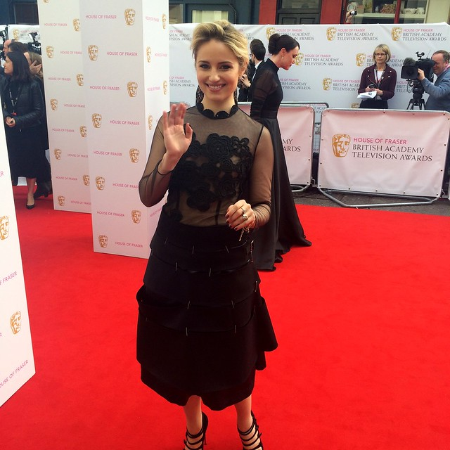 BAFTA Red Carpet 2015 (7)